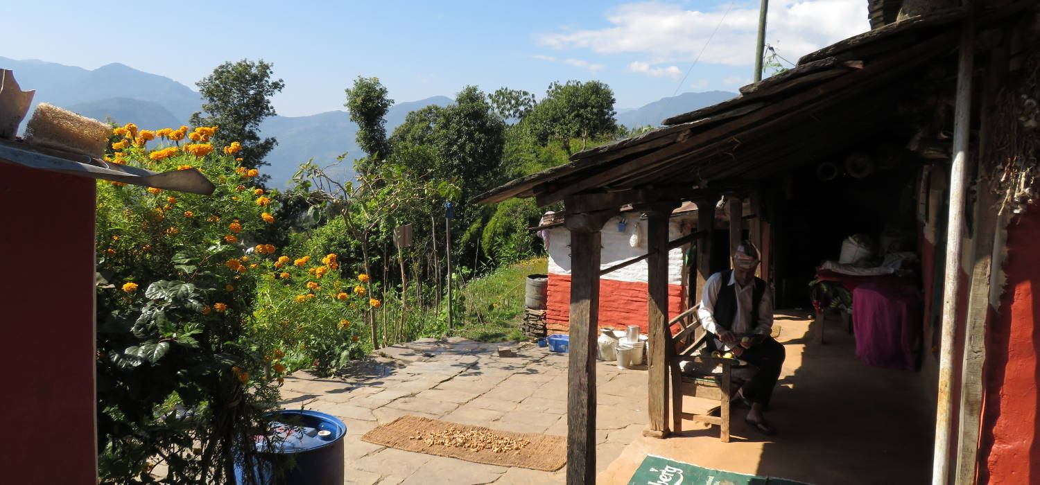 A traditional Nepali Home